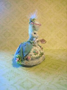 Jill Dianne- Tiny Marie Antoinette Dressed Rabbit ... | Doll House ...