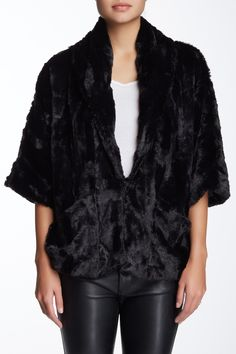 Faux Fur Cocoon Jacket (Juniors) by Jolt on @nordstrom_rack