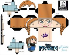 papertoys-anna-frozen-part-1