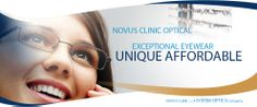 Unique and Affordable Eyewear at Novus Clinic Affordable Glasses, Eye Doctor, Appointments, Surgery, Clinic, Eyewear, Cosmetics, Eyes, Unique
