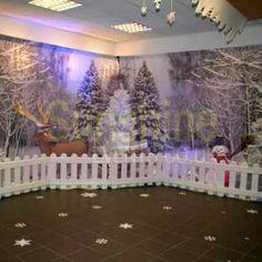 decorating winter wonderland christmas | Winter Wonderland Theming