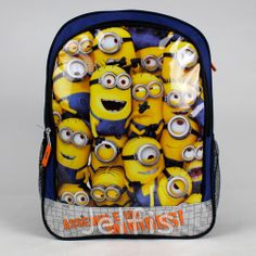 2f405f24bb6f Despicable Me Large Backpack - Minions Assemble 16  Boys Girls School Book  Bag