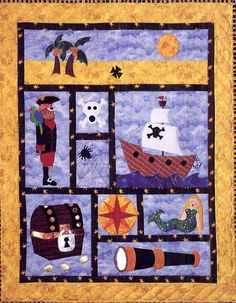 - A Pirate's Life Quilt Pattern - at The Virginia Quilter