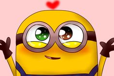 The cutest thing ever!! Watch bob in the minion movie