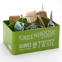 Greenhouse Gardening Caddy  Buy Online at The Handpicked Collection
