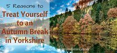 5 Reasons to Treat Yourslef to an Autumn Break in Yorkshire http://luxuryspringcottageyorkshire.co.uk/autumn-break-yorkshire/