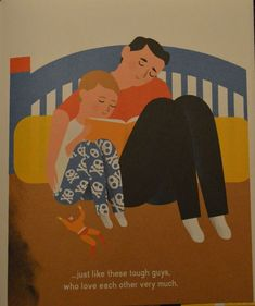Daddies don't cry!