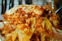 comfortable food - cabbage roll casserole recipe - This is one of my/our favorite meals and we like to have it every couple weeks.  ;)