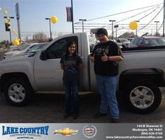 #HappyBirthday to Brianns Robbins from James Weatherford at Lake Country Chevrolet Cadillac!