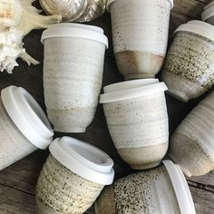 Pottery for the Planet // Sandy Planet Cup - Smooth