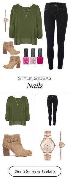 """""""Accessories Included"""" by jjwahlberg on Polyvore featuring River Island, WearAll, Sole Society, Michael Kors and OPI"""