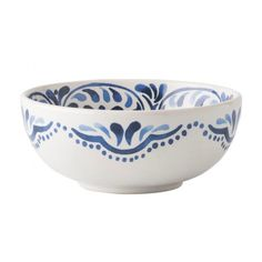 Juliska Iberian Indigo Cereal Ice Cream Bowl