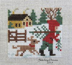 Stitching Dreams: And a good month was had by all!