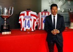 """""""Quiero contarles porque ganaron estos chicos el partido de ayer: porque jugaron con el corazón de todos ustedes y en cada milímetro, centímetro del campo jugaron con el corazón de los hinchas del Atlético de Madrid."""" Cholo Simeone, ese momento fue inolvidable"""