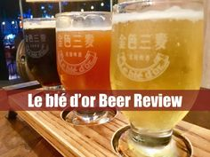 Le blé d'or Beer Review - www.drinkingondimes.com