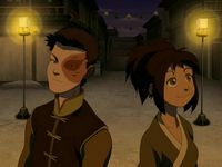I want these two to get together. I think Jin really brought out the good in Zuko :D :D :D ← These two need to be a thing!!