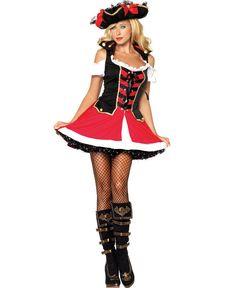 Adult Aye Aye Admiral Sexy Pirate Costume Leg Avenue 83625 #LegAvenue #Dress