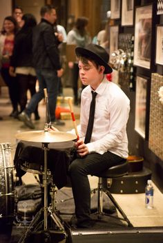 Great shot of Graham at our acoustic set from Warner Bros. Records. Photo by Stage And Stills. -Echosmith