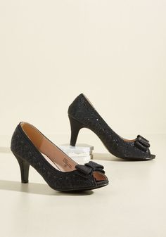 1a8a1e881a0 BeSt high heel Shoes. See more. All That Dazzle Heel in Noir. Hypnotize the  crowd by flashing these flirty peep toe