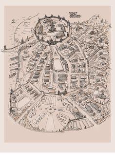 A plan for a Viking Town project  Viking Isle by Sholosh.deviantart.com on @deviantART