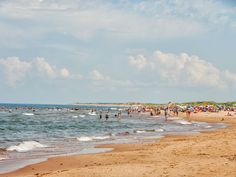 A sunny day at Brackley Beach Cavendish Beach, Endangered Bird Species, Cabot Trail, Lake Huron, Prince Edward Island, Beaches In The World, Windsurfing, Sandy Beaches, Beautiful Beaches