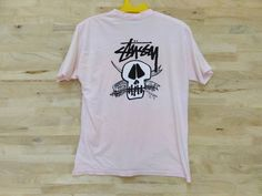 Vintage 90s Stussy Fresh Foils Graffiti Made In USA Large T Shirt by ArenaVintage