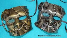 #steampunk masks are the highest quality