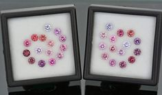 Gorgeous Multi Color Spinel Gemstone Match Sets from Burma and Sri Lanka 6.29 tcw.