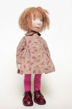 Nellie OOAK handcrafted cloth doll partial от AldegondeCeelen