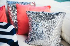 Sparkles ands stripes | Nautical Inspired Engagement Session from Kelly Rucker Photography  Read more - http://www.stylemepretty.com/texas-weddings/2013/11/08/nautical-inspired-engagement-session-from-kelly-rucker-photography/