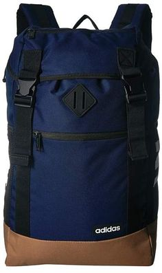 adidas Midvale Backpack-Dark Blue Raw Desert Khaki dfb444004fa84