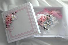 Shabby Chic Hart Pillow and Handmade Gift Box - Scrapbook.com