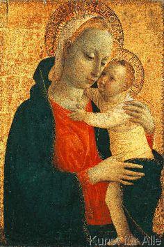 Vincenzo Foppa - V.Foppa, Maria mit Kind