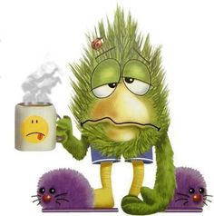 This is just how I look in the mornings!!!! LOL