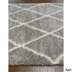 nuLOOM Moroccan Trellis Shag Rug (4' x 6') - Overstock™ Shopping - Great Deals on Nuloom 3x5 - 4x6 Rugs