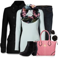 """""""Garden"""" by lagu on Polyvore  Despite the fact that I love everything, I am REALLY loving that jacket. I want one. =3"""