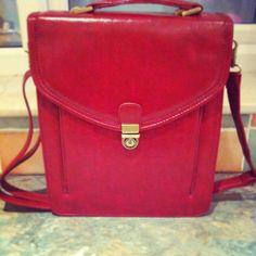 My lovely new vintage satchel x