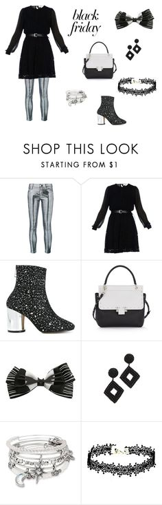 """Shopping in Style"" by timeclare ❤ liked on Polyvore featuring RtA, MICHAEL Michael Kors, Maison Margiela, Lanvin, Disney, Kenneth Jay Lane and Alex and Ani"