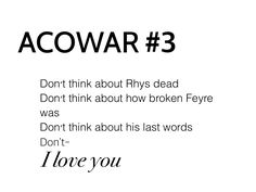 ACOWAR SPOILERS<<<<BUT THIS PART KILLED ME SLAYED ME SHOOK ME IT HONESTLY THOUGHT HE WAS GONE OMG THE LAST WORDS I CANT