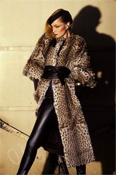 Leopardo - Vogue.it 1978 #TuscanyAgriturismoGiratola