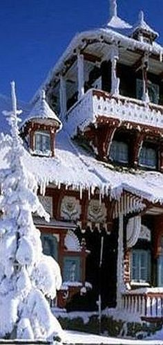 Gorgeously Cold Winter Months --- Snow Country Homes