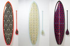 One of our favorite shopping haunts, Anthropologie, has released limited-edition SUP boards, and they are gorgeous. It's yet another reason (besides a clothing line!) to love the sport.  #SelfMagazine