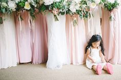 Nothing phases this flower girl: http://www.stylemepretty.com/california-weddings/san-clemente/2015/07/28/stylish-san-clemente-wedding-at-the-historic-casino-estate/ | Photography: Per Pixel Photo - http://www.perpixelphoto.com/