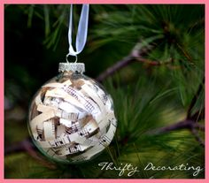 [Christmas Crafts] Recycling Old Christmas Cards Into Christmas Ornaments >>> Want to know more, click on the image. #ChristmasCrafts