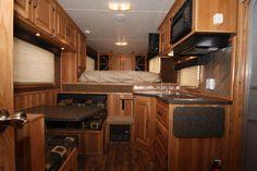 4ft short wall living quarters   ... ) 2012 - Slant Load, Merhow Living Quarters Horse Trailer   Equine RV