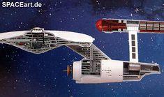 Star Trek: U.S.S. Enterprise NCC-1701 Cut-Away, Modell-Bausatz ... http://spaceart.de/produkte/st076.php
