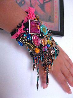 Nacht lichten Gypsy Jangle armband betoveren door AllThingsPretty