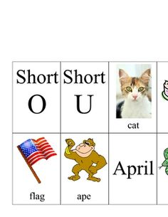 This is a pocket chart activity using vowels. I used this activity to have students distinquish between short and long vowels. I put all the a vowe...
