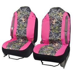 High Back Truck Seat Covers Integrated Seatbelt For Pickups SUVs (Pink/Camo) Pink Truck, Black Truck, Truck Accessories, Girls Accessories, Cool Trucks, Big Trucks, Truck Seat Covers, Chevy Diesel Trucks, Dually Trucks