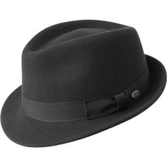 e11ca65d9c7c7 Men s Bailey of Hollywood Wynn 7016 Black. SombrerosAccesorios Para  TrajeSombreros DerbyHombres ...